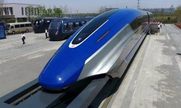 Супер поезда будущего на магнитной подушке