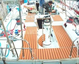 Ремонт деревянных частей корпуса судна и изоляционные работы
