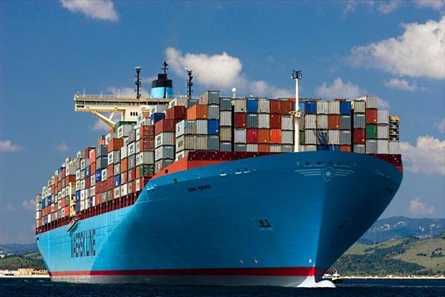 Грузовой танкер Maersk Line