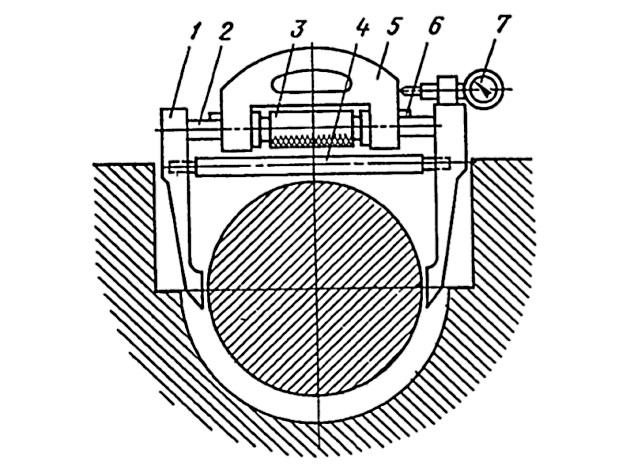 Приспособление для измерения диаметра