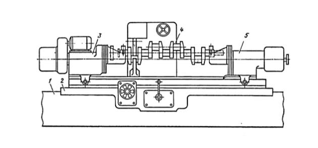 Схема специального станка модели ХШ2-07