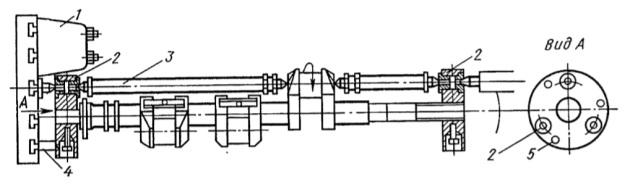 Станок для обработки мотылевых шеек