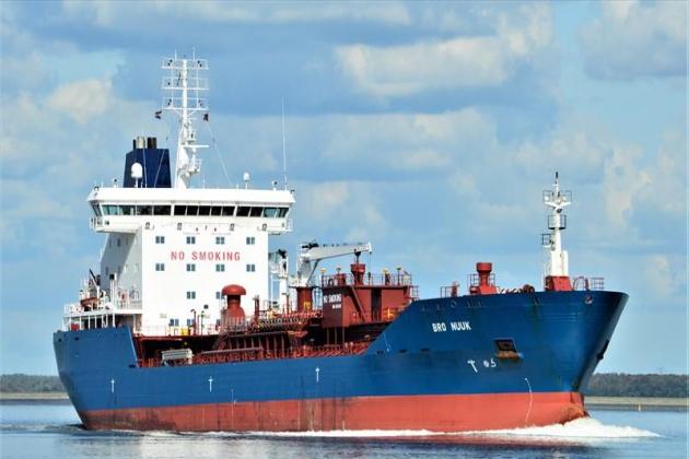 Ремонт деталей судна BRO Nuuk