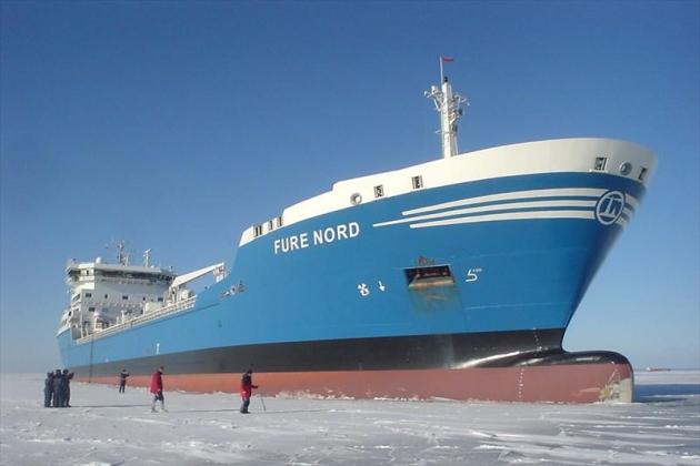 Ремонт деталей судна Ure Nord