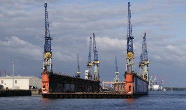 Металлические плавучие доки — общие сведения и классификация