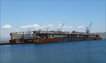 Энергетические установки плавучих доков