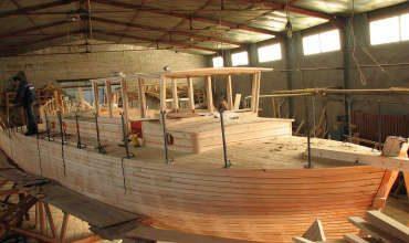 Постройка морских деревянных судов