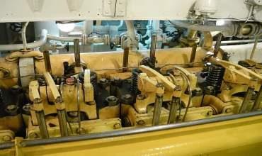 Ремонт крышек рабочих цилиндров судовых ДВС