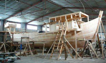 Палубные конструкции морских деревянных судов