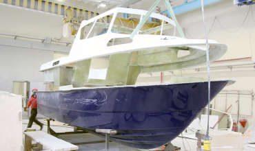 Ремонт гребных лодок, шлюпок и катеров