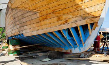 Конструкция корпуса морских деревянных судов