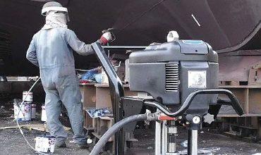 Оборудование для нанесения судовых лакокрасочных материалов