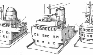 Конструкция надстроек и рубок