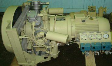 Монтаж судовых воздушных компрессоров