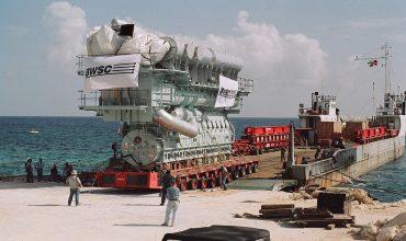 Монтаж судовых двигателей внутреннего сгорания