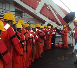 Emergency operations and First aid on board