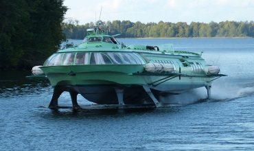 Малотоннажные суда на подводных крыльях