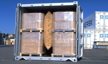 Упаковка грузовых мест на морских судах