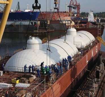 Materials of construction LNG and LPG tanks