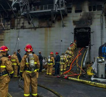 Fire protection and Fire extinction on Liquefied Gas Carriers
