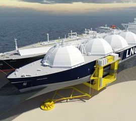 Offshore supply chain of Liquefied Natural Gas